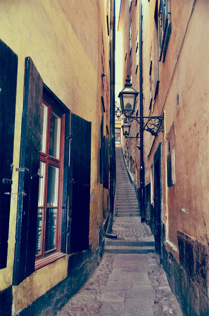 Mrten Trotzigs Grnd Gamla Stan I Stockholm